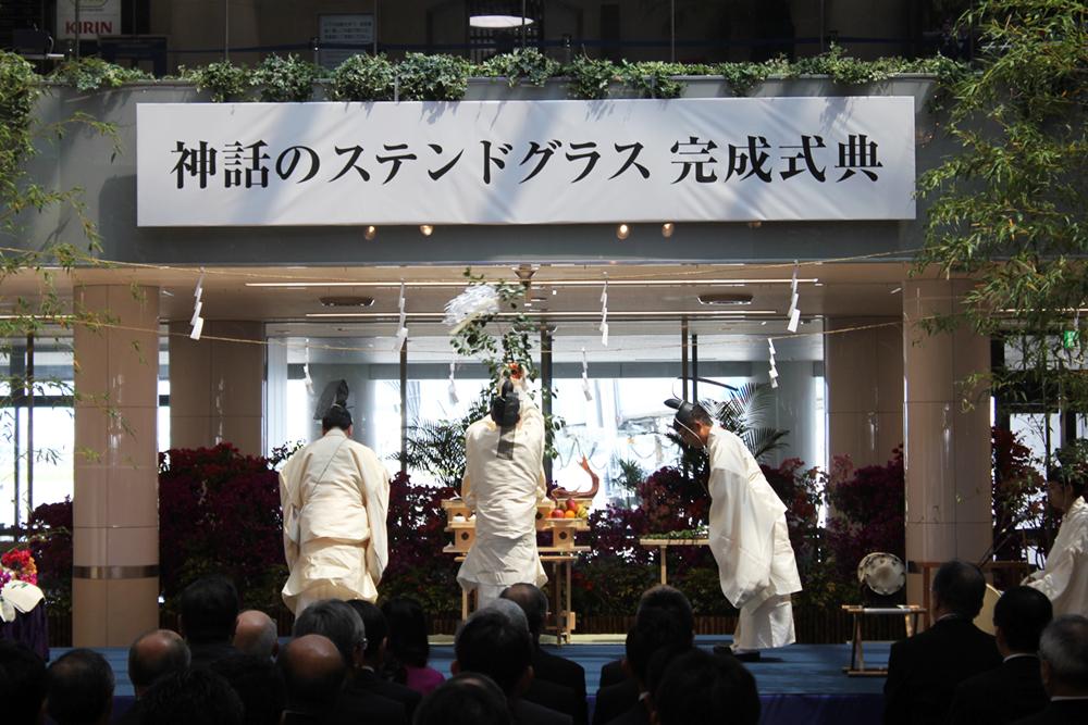 宮崎神宮による神事
