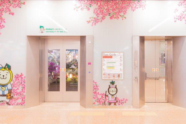 バリアフリー対応エレベーター
